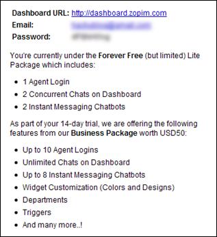 กล่อง Chat บน Blogger