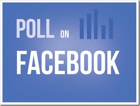 วิธีสร้างโพล ทำ poll บน facebook สอน สร้างบล็อก Blogger