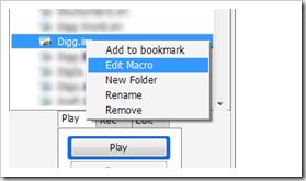 สอน iMacro Submit bookmark และ Pligg