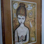"""""""Laurie"""" lithograph by Irving Amen"""