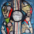 Amy Silvey, First Two Measures, Collage, Acrylic.jpg