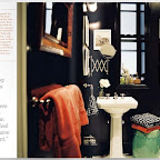 Masculine yet elegant bathroom of New Yorker Ari S. Heckman