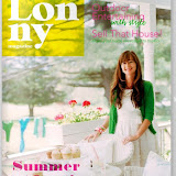 This month's cover of Lonny Magazine