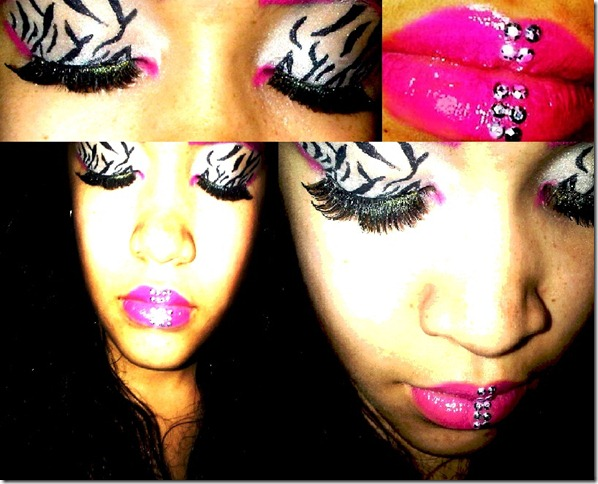 kelly pink and zebra