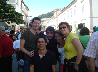 Group trip out side of Porto