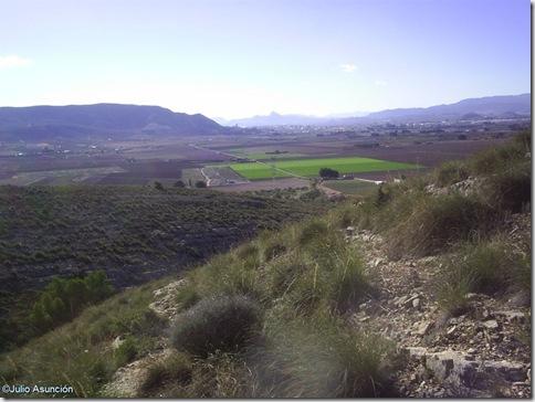 Panoramica desde la cueva