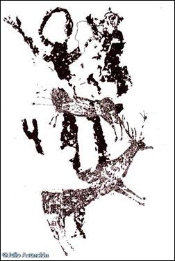 ciervos e ídolo macroesquemático