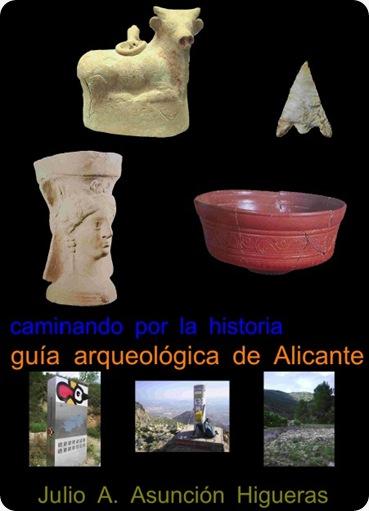 portada guia arqueologica de alicante