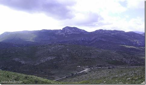 Panorámica desde la Cova de Dalt