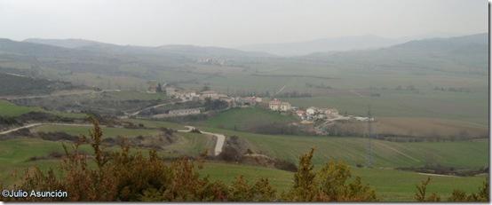 Panorámica del Valle de Unciti - Cemborain