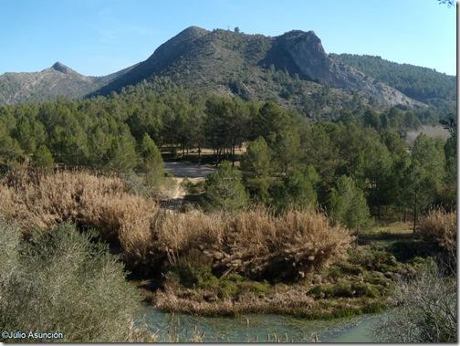 Vista desde la Cova Negra de la Penya blanca - Xátiva
