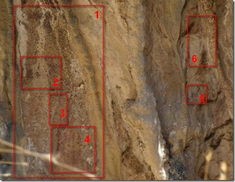 Paneles 3 y 4 del abrigo de Les Torrunades