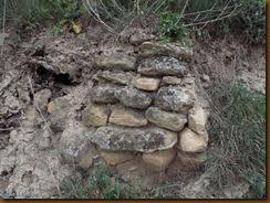 Resto de muro - Castro de Sansol - Muru-Astrain
