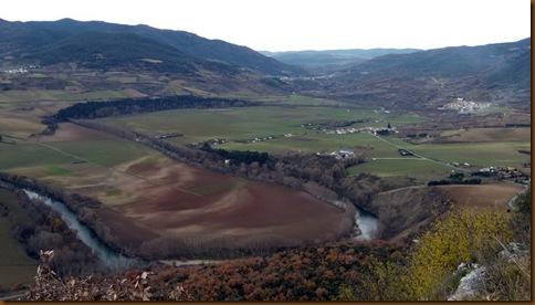 Panorámica desde el santuario de San Quiriaco - Echauri