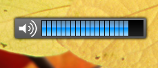 3RVX skinnable On-Screen Display Volume Slider In Windows 7
