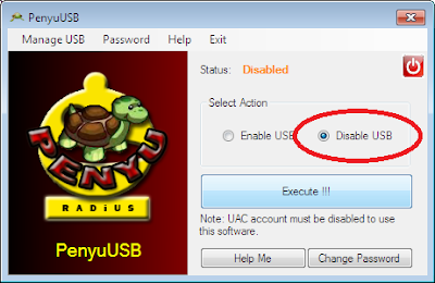 Password Protect  The Use Of Your USB Storage Drive