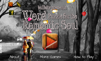 Screenshot of WORD PUZZLE for ROMANTIC SOUL