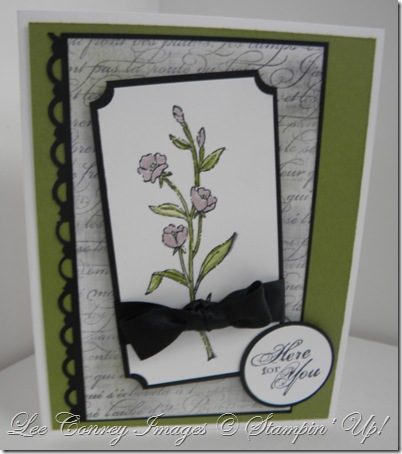 Faux Linen Technique Cards 001