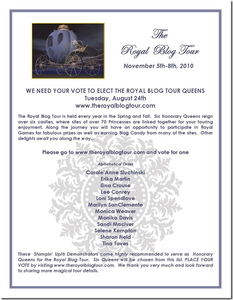 Royal Blog Tour VOTE