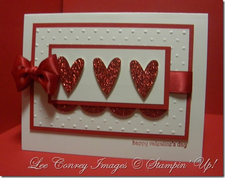 Valentine Red Glitter Paper 001