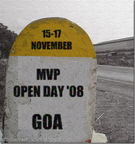 MVP Open Day 2008 Badge