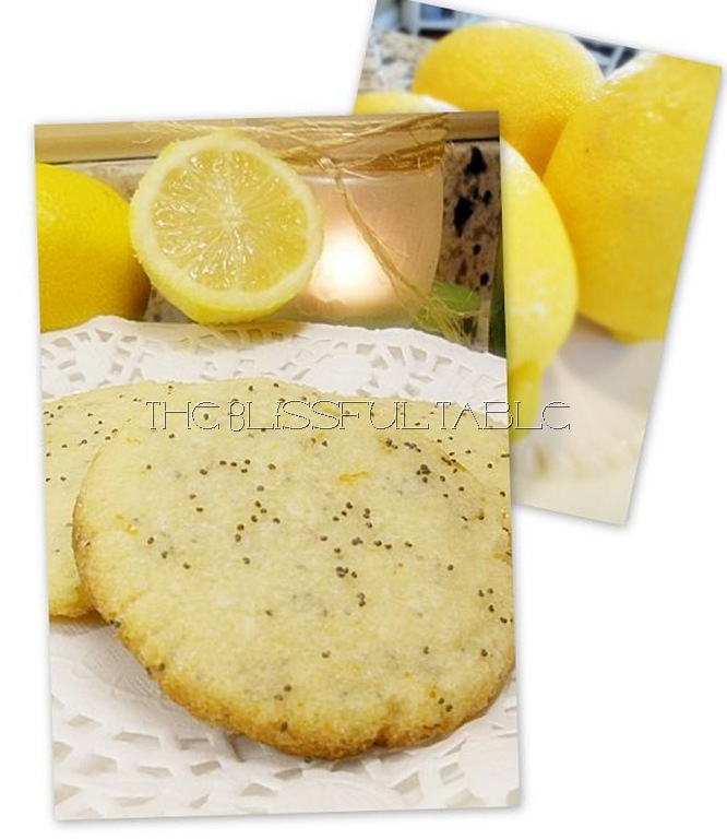 Lemon Poppyseed Cookies collage