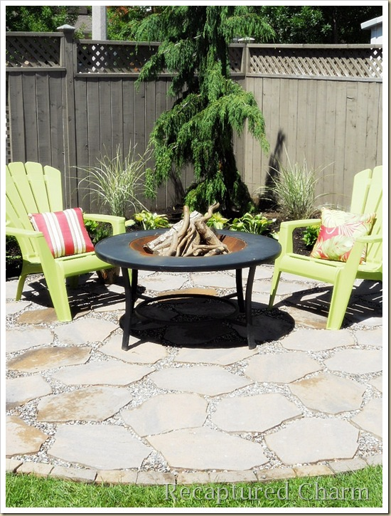 Fire Pit Patio 050a