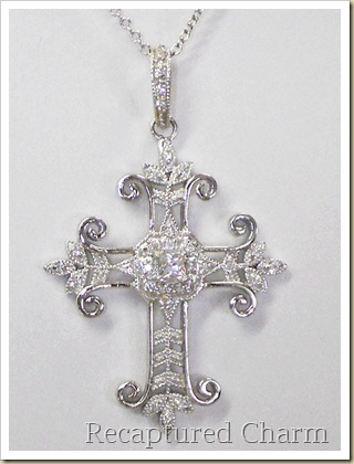 sterling silver cross 014a