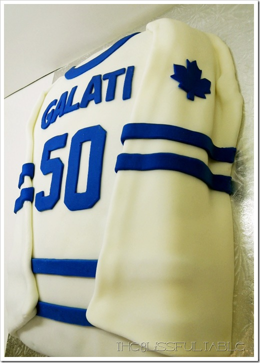 Toronto Maple Leafs Cake 065a
