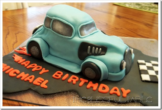 car cake 2a