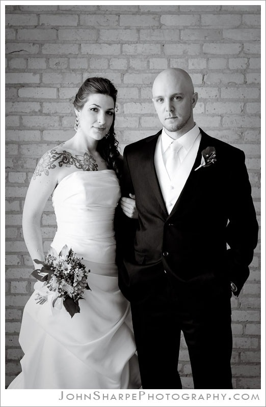 Minneapolis Bride and Groom portrait