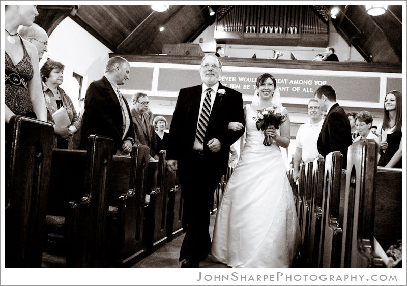 Immanuel Lutheran Church MN Wedding Ceremony Photography