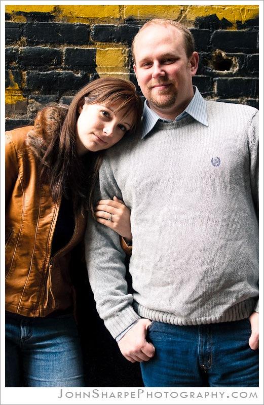 St Paul Engagement Couple