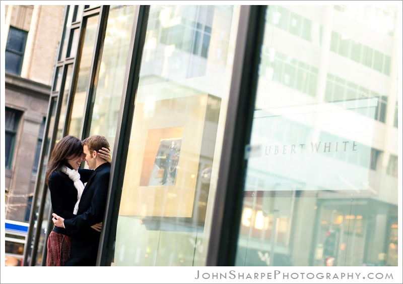 Downtown Minneapolis Wedding Engagement Photography