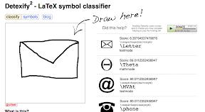 latex thesis symbol list
