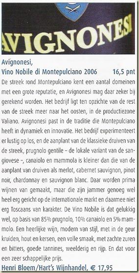 Avignonesi Vino Nobile 4-2010