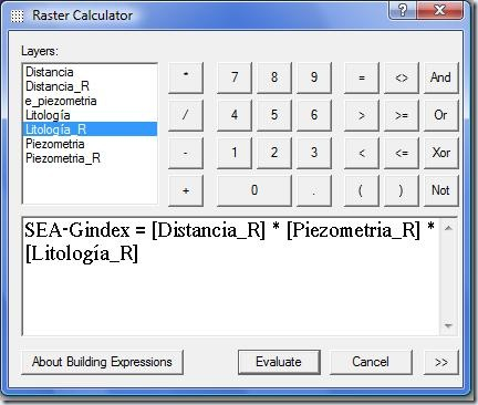 F19 Raster calculator
