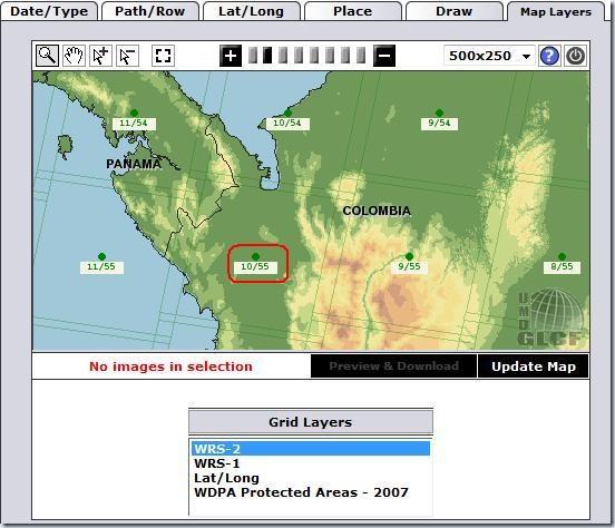 F6 Update map