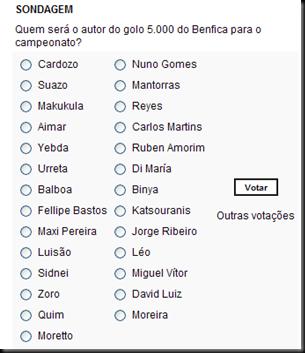 votaçao
