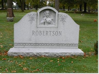 Robertson, Elm Lawn Cemetery