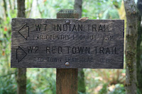 Indian Trailhead Marker Photo