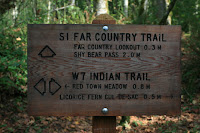 Far County Trail Junction Photo