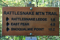 Rattlesnake Trailhead Marker Photo
