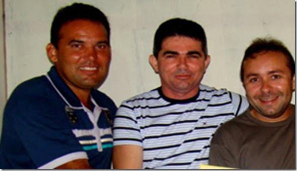 CHICO PAIVA, MEDEIROS E EDUARDO DO MICAREIA