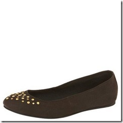 topshop studded flat