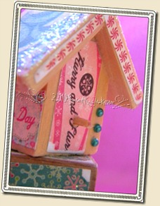 Cosmo Cricket bird house 3
