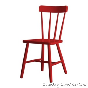 jens red chair