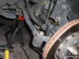 Removing tie rod