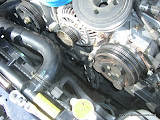 Stock Impreza RS Pulley Removed
