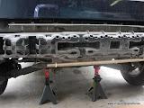 Rear ABS crash absorber. Under car lighting is optional